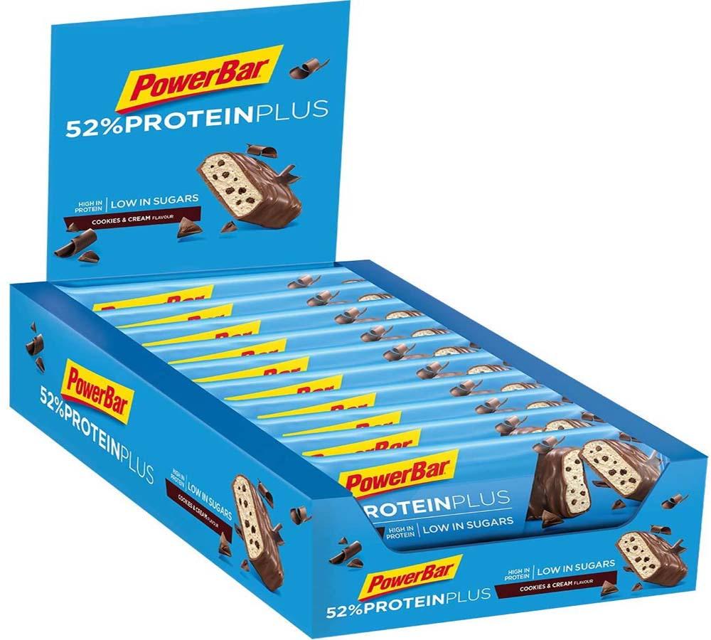 Barras de proteína PowerBar Protein Plus