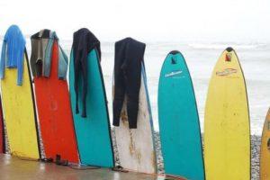 Tipos de tablas de surf y características