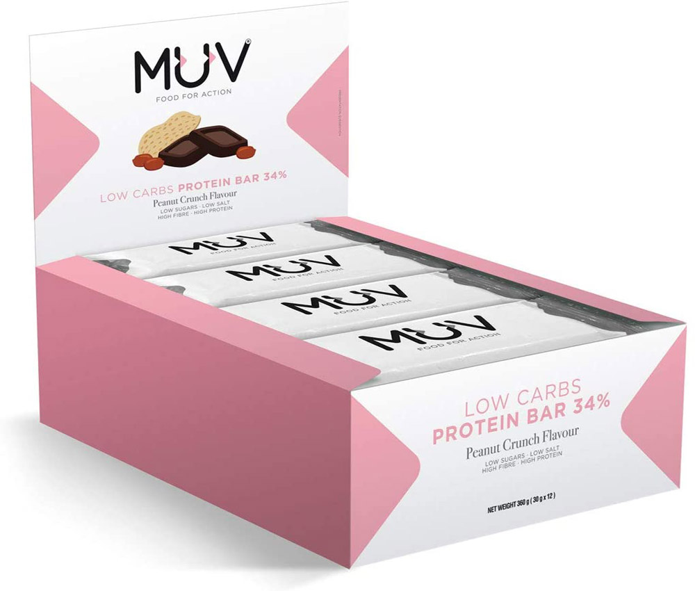 Barras de proteína Muv Food for Action