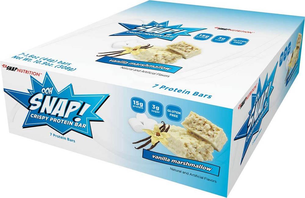 Barras de proteína Ooh Snap Nutrition Vainilla
