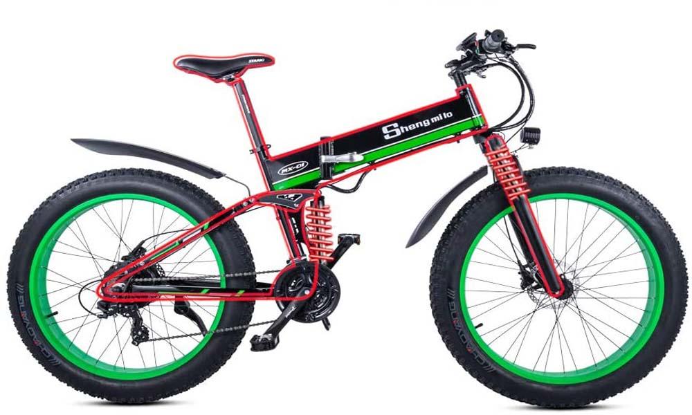 Bicicleta de montaña Shengmilo MX01