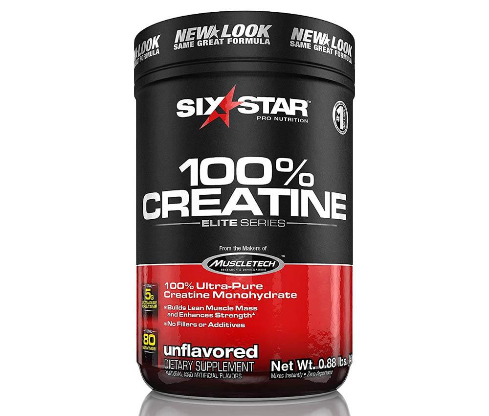 Creatina monohidrato MuscleTEch Six Star Pro Nutrition Elite Series