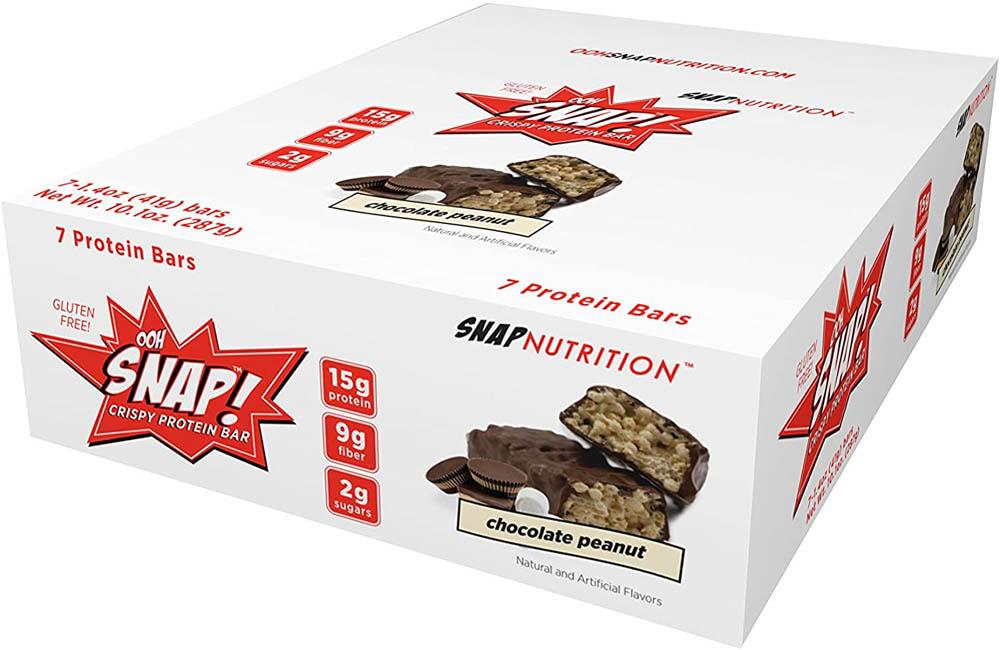 Barras de proteína Ooh Snap Nutrition Chocolate